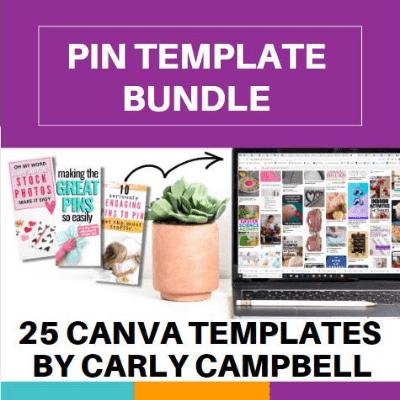 canva pin templates carly campbell