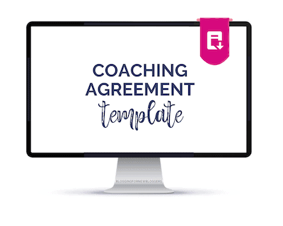 coaching Agreement Templates